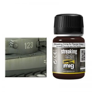Ammo by Mig Streaking Grime For Panzer Grey AMIG1202