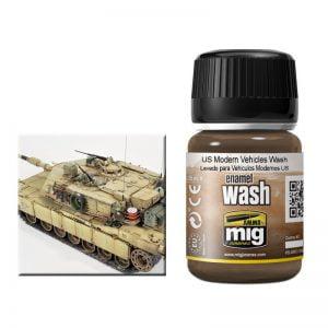 Ammo by Mig Us Modern Vehicles Wash AMIG1007