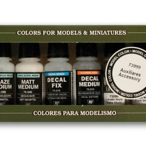 Vallejo Auxiliary Set of 8 Paints 73999