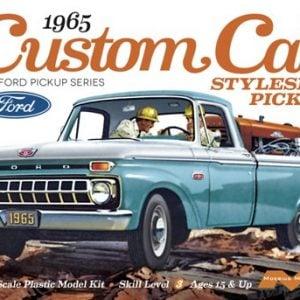 Moebius Models 1965 Ford Custom Cab Styleside Pickup 1/25th scale MOE 1234