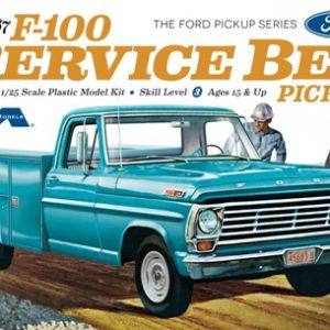 Moebius Models 1967 Ford F100 Service Bed Pickup 1/25th Scale MOE 1239