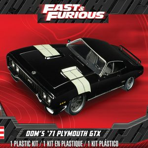 Revell Dom's '71 Plymouth GTX 2'N1 85-4477