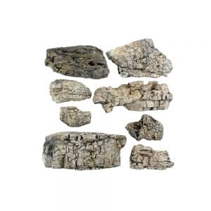 Woodland Scenics Faceted Ready Rocks C1137