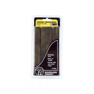 Woodland Scenics O Wood Plank Grade Crossing C1145