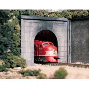 Woodland Scenics N Tunnel Port Concrete Single 2 Pack C1152
