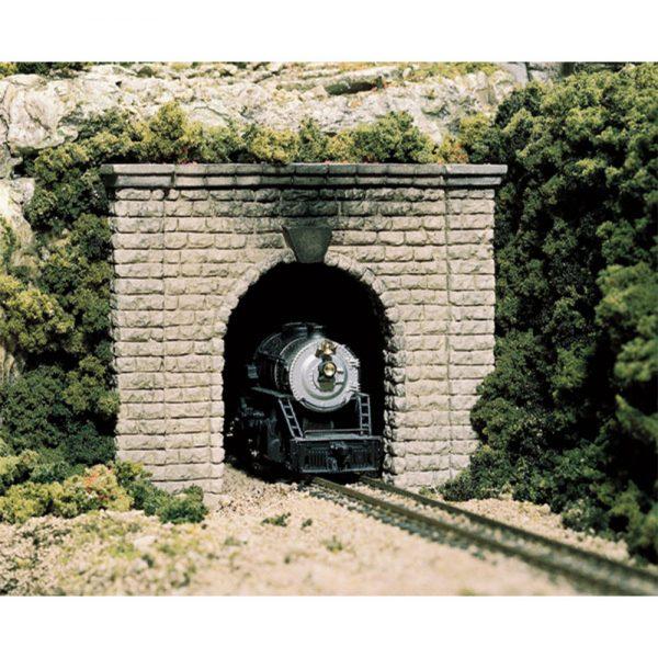 Woodland Scenics N Tunnel Port Cut Stone Single 2 Pack C1153