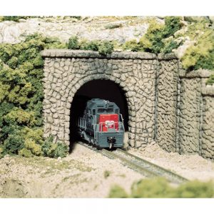 Woodland Scenics N Tunnel Port Random Stone Single 2 Pack C1155