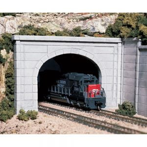 Woodland Scenics Tunnel Port Concrete Double 2 Pack C1156