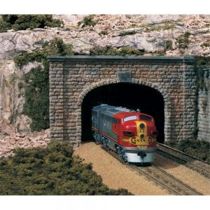 Woodland Scenics N Tunnel Port Cut Stone Double 2 Pack C1157