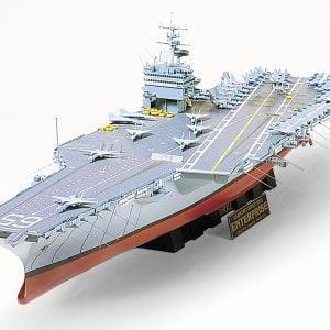 US Enterprise Aircraft Carrier CVN-65 Big E 1/350 Scale 78007