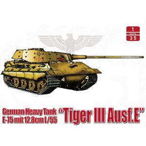 ModelCollect German Heavy Tank WWII E-75 Tigerzahn UA35016