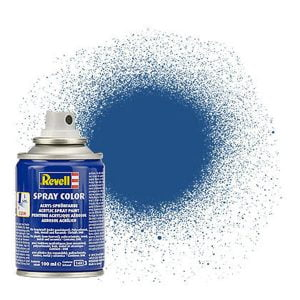 Revell Acrylic 100ml Spray Blue Matt RVP 34156
