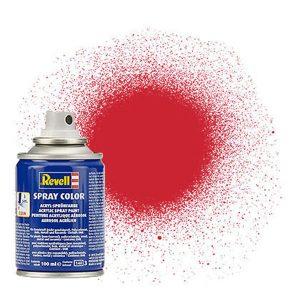 Revell Acrylic 100ml Spray Fiery Red Silk RVP 34330