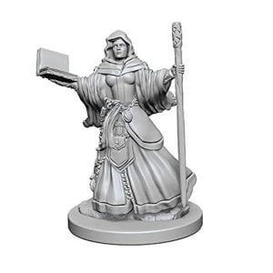 Wizkids D&D Nolzurs Marvelous Unpainted Miniatures Wave 1 Human Female Wizard 72619
