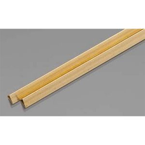 """Brass Triangle Tube Shapes Pack of 2 12"""" Long K&S Engineering 5097"""