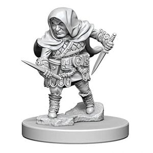 Wizkids D&D Nolzurs Marvelous Unpainted Miniatures Wave 1 Halfling Male Rogue 72626