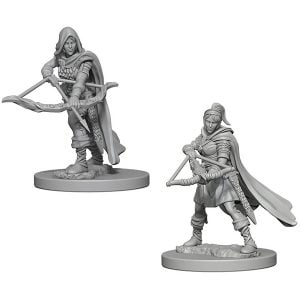 Wizkids D&D Nolzurs Marvelous Unpainted Miniatures Wave 1 Human Female Ranger 72636