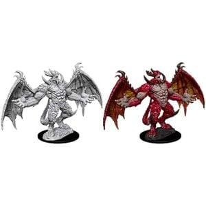 Wizkids Pathfinder Deep Cuts Unpainted Miniatures Wave 10 Pit Devil 73857