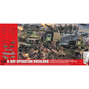 Airfix D-Day 75th Anniversary Operation Overlord Set 1/76 Scale A50162A