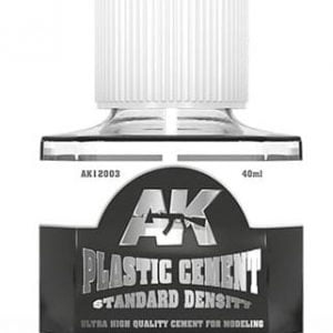 AK interactive Plastic Cement Standard Density AKI 12003