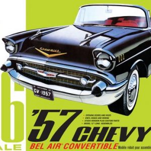 AMT 1957 Chevy Bel Air Convertible 1:16 Scale 1159