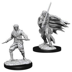 Wizkids Pathfinder Deep Cuts Unpainted Miniatures Wave 10 Male Elf Rogue 73854