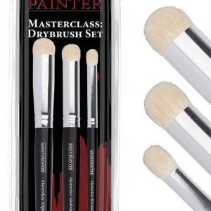 The Army Painter Masterclass Drybrush Set of 3 TL5054