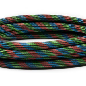 """Iwata 10' Braided Nylon Airbrush Hose with Iwata Airbrush Fitting and 1/4"""" Compressor Fitting BT010"""