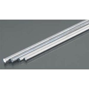 """Alum Rod 3/32 & 1/8 Bendables Pack of 4 12"""" Long K&S Engineering 5070"""
