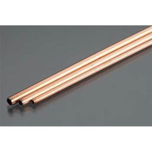 """Copper Tube 3/32, 5/32, 1/8 Bendables Pack of 3 12"""" Long K&S Engineering 5077"""