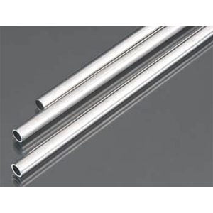 5mm OD X .45mm Wall Round Aluminum Tube Pack of 3 300mm Long K&S Engineering 9804