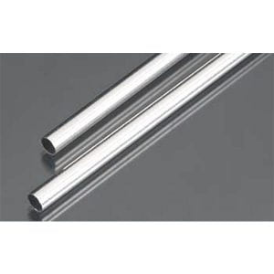 6mm OD X .45mm Wall Round Aluminum Tube Pack of 2 300mm Long K&S Engineering 9805