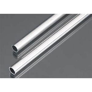 7mm OD X .45mm Wall Round Aluminum Tube Pack of 2 300mm Long K&S Engineering 9806