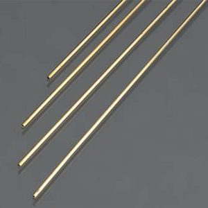 1mm OD X .225mm Wall Thin Wall Brass Tube Pack of 4 300mm Long K&S Engineering 9830