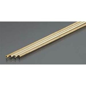 2mm OD X .225mm Wall Thin Wall Brass Tube Pack of 4 300mm Long K&S Engineering 9832