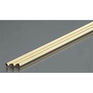 2.5mm OD X .225mm Wall Thin Wall Brass Tube Pack of 3 300mm Long K&S Engineering 9833