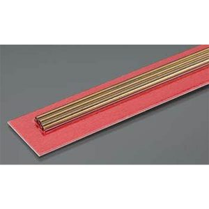 3mm OD X .225mm Wall Thin Wall Brass Tube Pack of 3 300mm Long K&S Engineering 9834