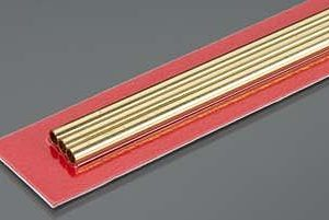 4mm OD X .225mm Wall Thin Wall Brass Tube Pack of 3 300mm Long K&S Engineering 9836