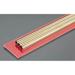 5mm OD X .225mm Wall Thin Wall Brass Tube Pack of 3 300mm Long K&S Engineering 9838