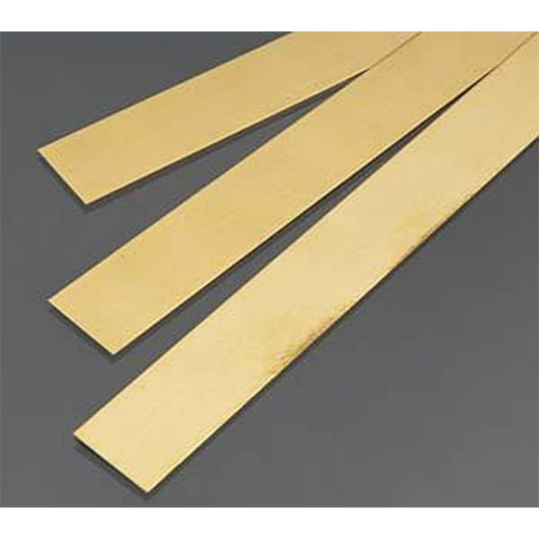 .5mm THK X 18mm Wide Brass Strip Pack of 3 300mm Long K&S Engineering 9842