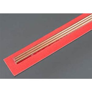 3mm OD X .36mm Wall Round Copper Tube Pack of 3 300mm Long K&S Engineering 9871