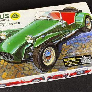 Tamiya Lotus Super 7 Series II Model Kit with Photo-Etched Parts 24357