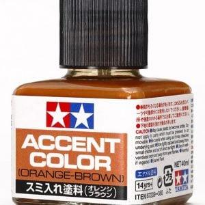Tamiya Orange Brown Panel Line Accent Color 87209