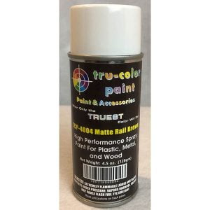 Tru-Color Matte Rail Brown Spray Can 4.5 ounce 128 gms TCP-4004