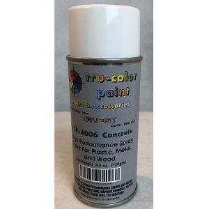Tru-Color Matte Concrete Spray Can 4.5 ounce 128 gms TCP-4006