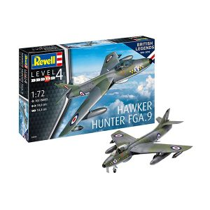 Revell 100 Years RAF Hawker Hunter FGA.9 1/72 Scale RVG 03908