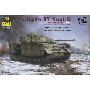 Border Models Panzer Pz.Kpfw.IV Ausf.G Mid Late 1/35 Scale BT-001