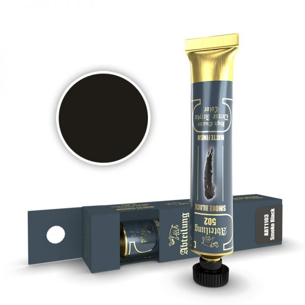 Abteilung 502 Dense Acrylic Paint Smoke Black ABT1103