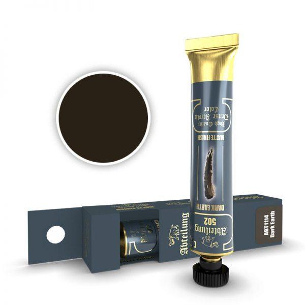 Abteilung 502 Dense Acrylic Paint Dark Earth ABT1114