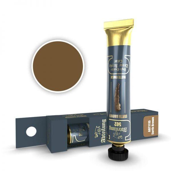 Abteilung 502 Dense Acrylic Paint Earth Brown ABT1115